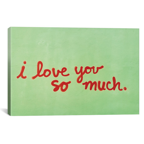 """I Love You So Much II // Bethany Young (18""""W x 12""""H x 0.75""""D)"""