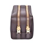 Leather Dopp Kit V2 // Brown