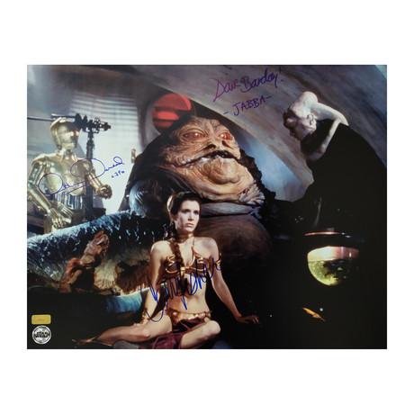 Star Wars // Carrie Fisher & David Barclay