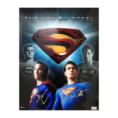 Men of Steel // Superman // Brandon Routh & Dean Cain
