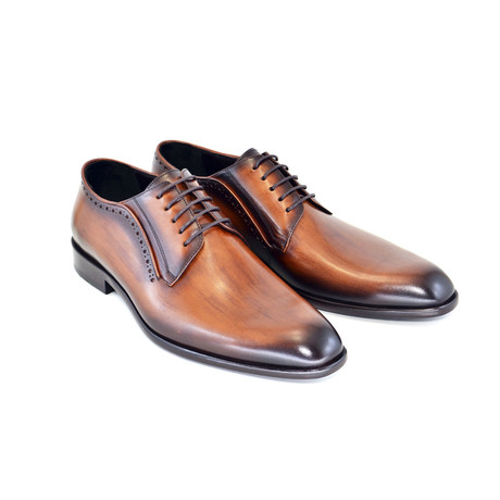 Plain Cap Toe // Brown (US: 7)