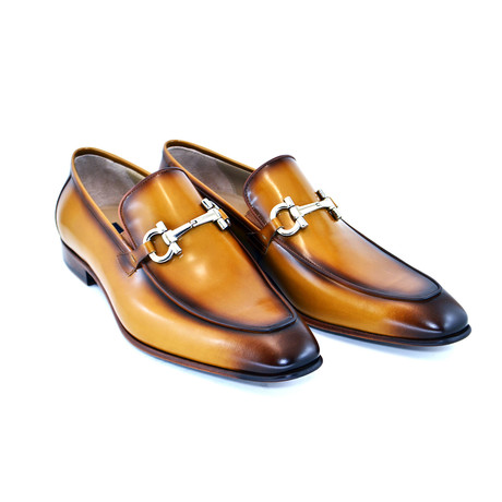 Bit Buckle Loafer // Tobacco (US: 7)