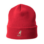 Acrylic Pull-On Beanie // Red