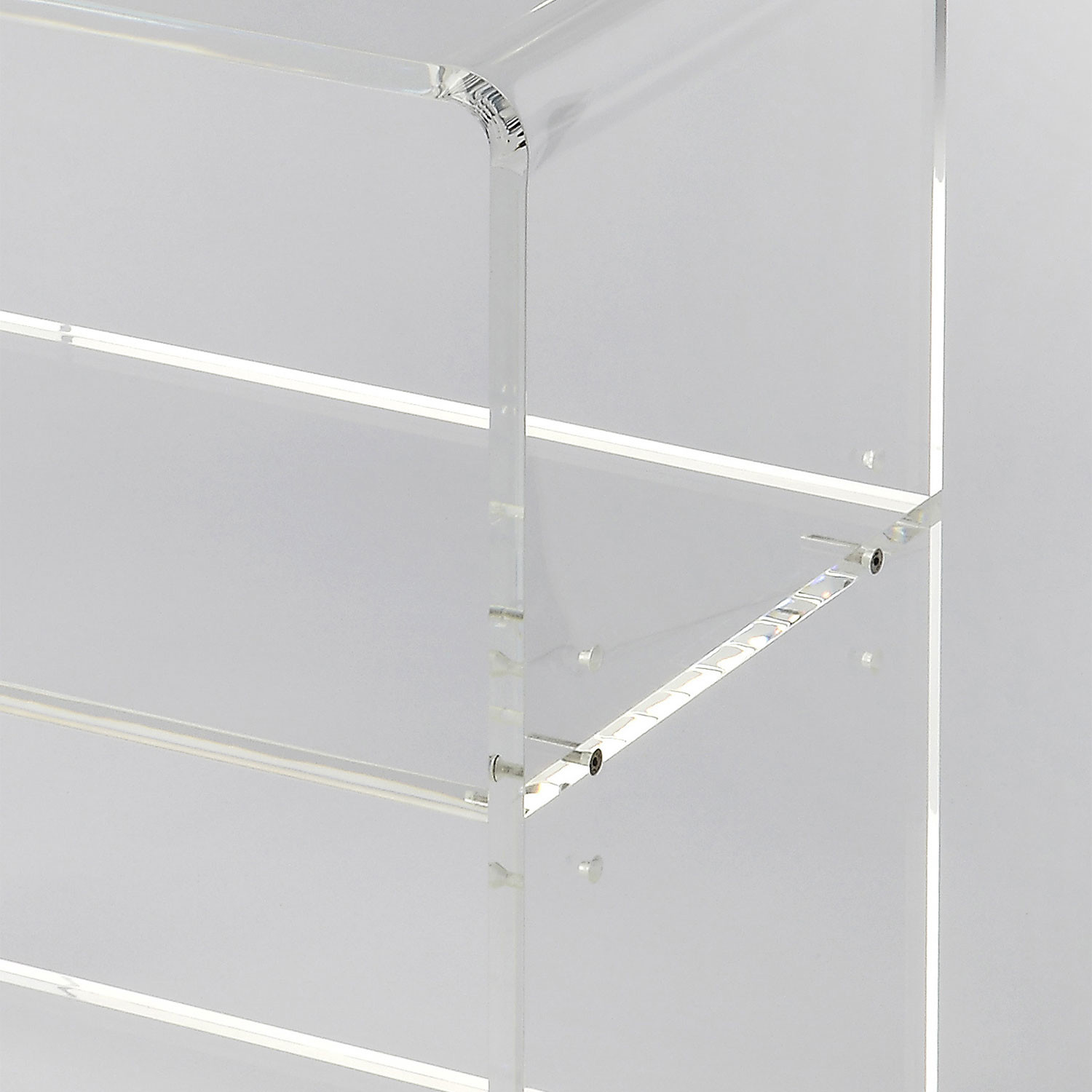 Roskilde Acrylic Bookcase Butler Specialty Co Touch Of