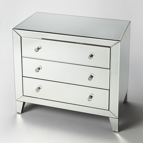 Alexandre 3 Drawer Accent Chest