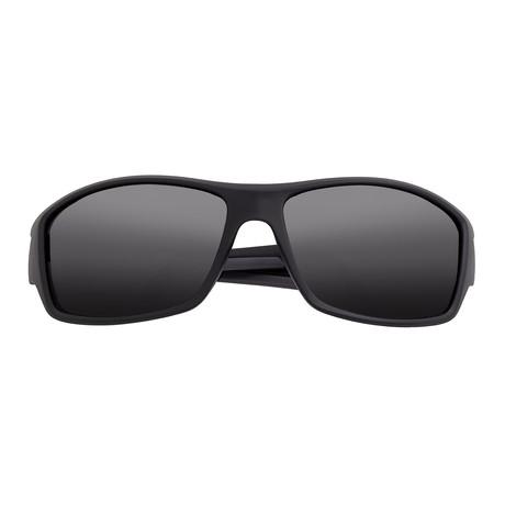 Aquarius Polarized Sunglasses (Black Frame + Black Lens)