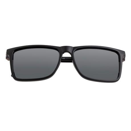 Caelum Polarized Sunglasses (Black Frame + Black Lens)