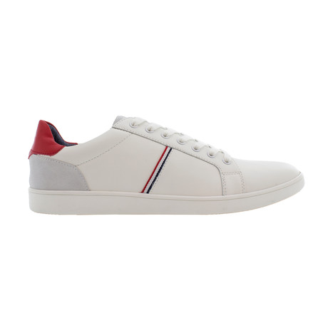 Leo Sneakers // White + Red (US: 7)