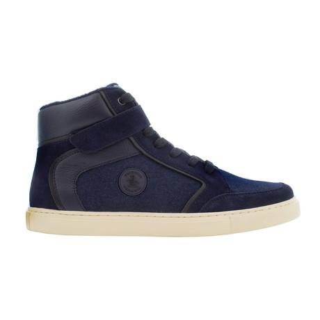 Miller High-Top Sneakers // Navy + Red (US: 7)