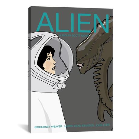 "Alien (12""W x 18""H x 0.75""D)"