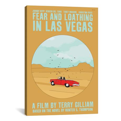 """Fear And Loathing In Las Vegas (12""""W x 18""""H x 0.75""""D)"""