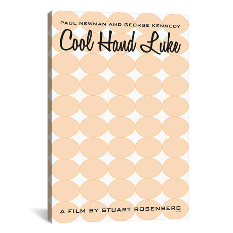 """Cool Hand Luke (12""""W x 18""""H x 0.75""""D)"""