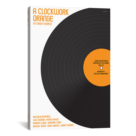 "Clockwork Orange (12""W x 18""H x 0.75""D)"