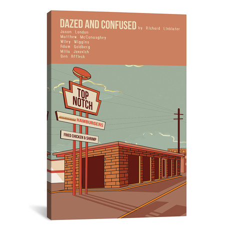"""Dazed And Confused (12""""W x 18""""H x 0.75""""D)"""