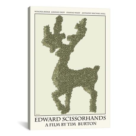 """Edward Scissorhands (12""""W x 18""""H x 0.75""""D)"""