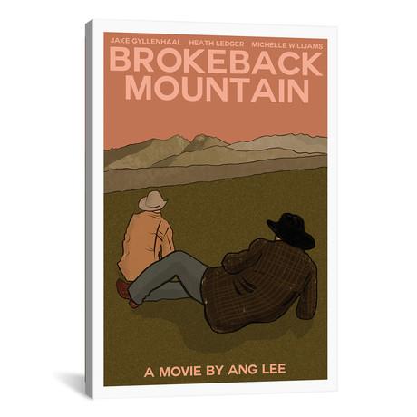 "Brokeback Mountain (12""W x 18""H x 0.75""D)"