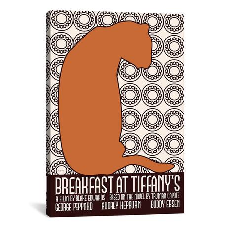 """Breakfast At Tiffany's II (12""""W x 18""""H x 0.75""""D)"""