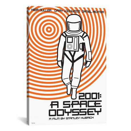 "2001 A Space Odyssey (12""W x 18""H x 0.75""D)"
