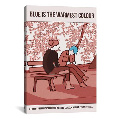 """Blue Is The Warmest Colour (12""""W x 18""""H x 0.75""""D)"""