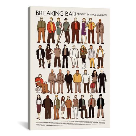 "Breaking Bad (12""W x 18""H x 0.75""D)"