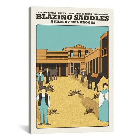 "Blazing Saddles (12""W x 18""H x 0.75""D)"