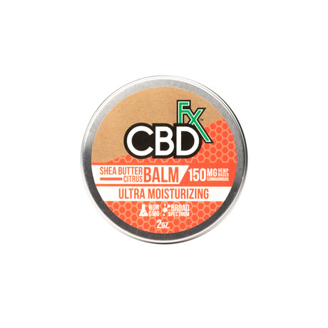 CBD Shea Butter Citrus Balm