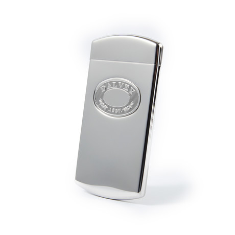 Engravable Dalvey Stainless Steel Business Card Case with Hinged Lid