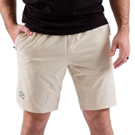 Men's RX Training Shorts // Beige (XXS)
