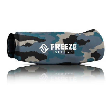 Freeze Sleeve // Blue Slate Camo (Small)