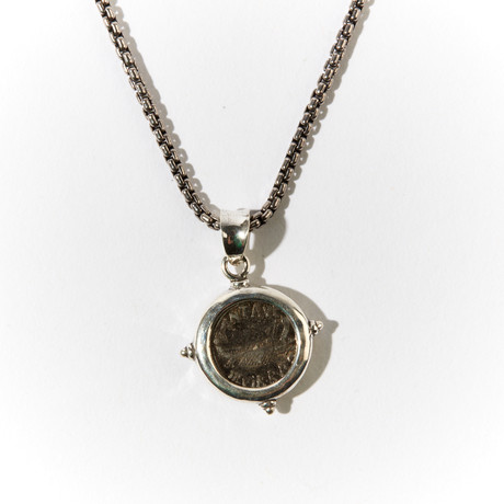 Mark Antony Silver Legionary Denarius // Silver Pendant