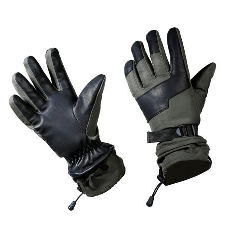 Spruce Gloves // Olive (S)
