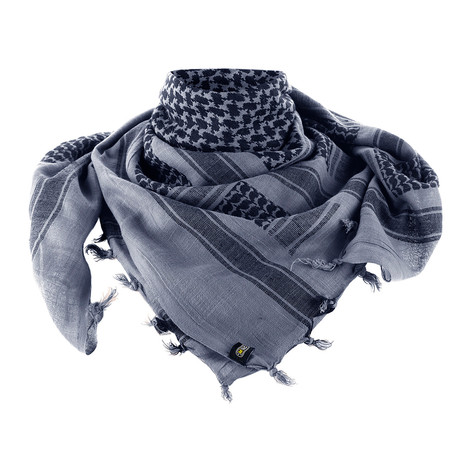 Zane Scarf // Gray + Black