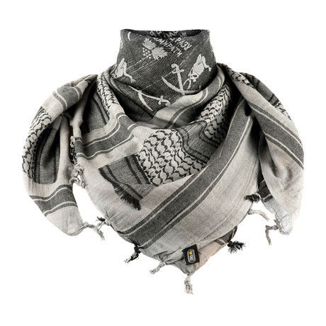 Barrett Scarf // Gray + Black
