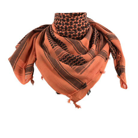 Evan Scarf // Orange + Black