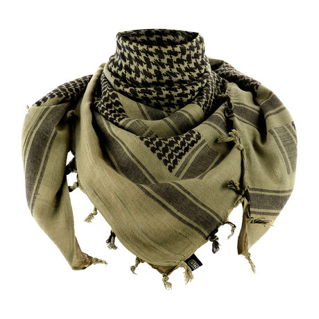 Drew Scarf // Green + Black
