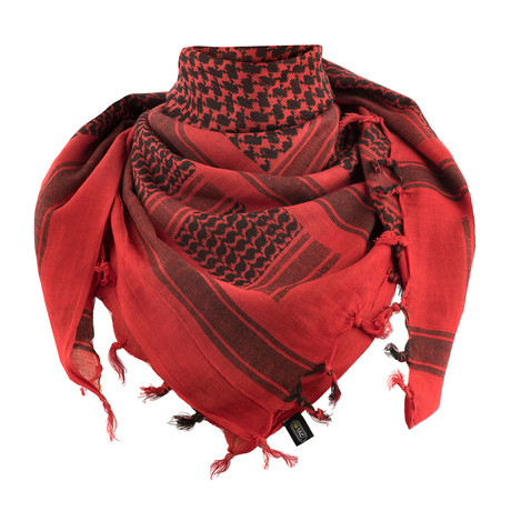 Matthew Scarf // Red + Black