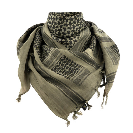 Jeff Scarf // Green + Black