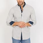 Isaac Long Sleeve Button-Up Shirt // Linen Gray (Large)
