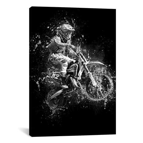 """Dirt Bike Jump (12""""W x 18""""H x 0.75""""D)"""