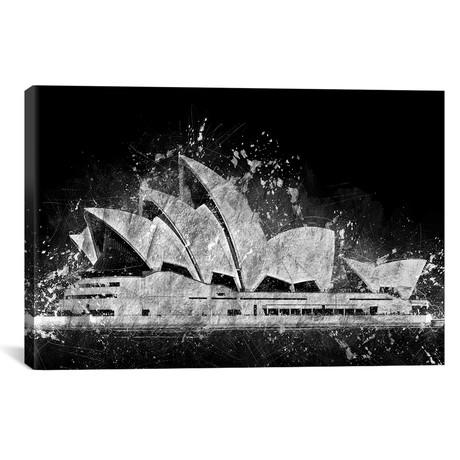 "The Sydney Opera House (18""W x 12""H x 0.75""D)"