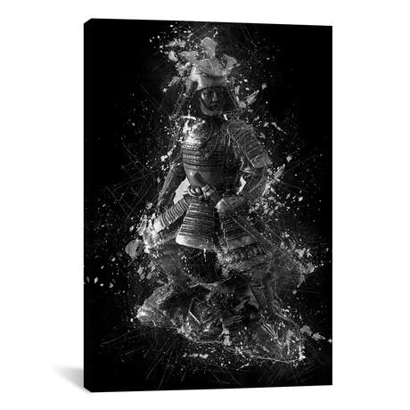 """Samurai Statue (12""""W x 18""""H x 0.75""""D)"""
