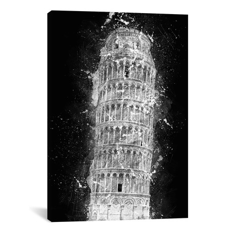 "Leaning Tower Of Pisa (12""W x 18""H x 0.75""D)"