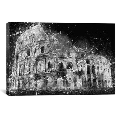 """Colosseum (18""""W x 12""""H x 0.75""""D)"""