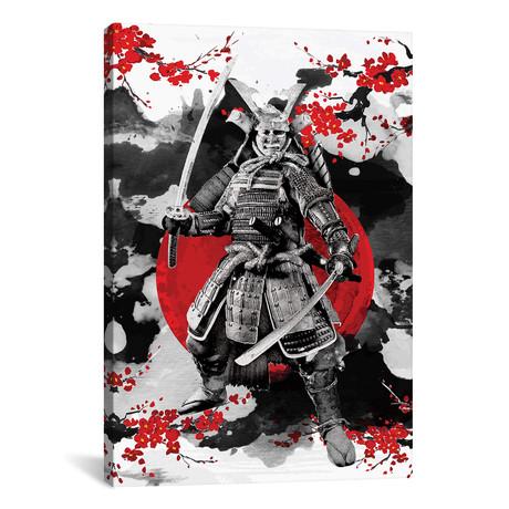 """Sakura Samurai (12""""W x 18""""H x 0.75""""D)"""