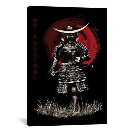 "Bushido Samurai Attack Ready (12""W x 18""H x 0.75""D)"