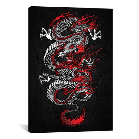 "Asian Dragon // Cornel Vlad (12""W x 18""H x 0.75""D)"