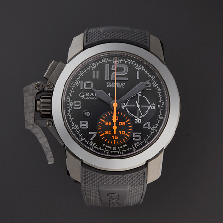 Graham Chronofighter Oversize Black Forest Automatic // 2CCAU.B01A // Store Display