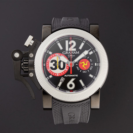 Graham Chronofighter Oversize Tourist Trophy Automatic // 2OVUV.B33A // Store Display