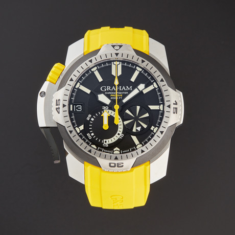 Graham Chronofighter ProDive Automatic // 2CDAV.B01A // Store Display