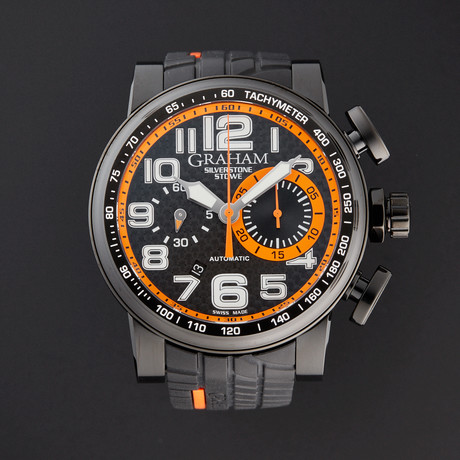 Graham Silverstone Stowe Racing Chronograph Automatic // 2BLDC.B40A // Store Display